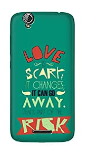 SWAG my CASE PRINTED BACK COVER FOR ACER LIQUID Z630S Multicolor