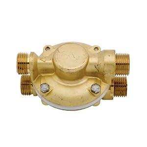 Deva PEV002 – Válvula de compensación de presión, termostático dorado