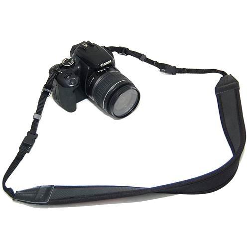 JJC Neopren-Kameragurt mit Quick Release Verschluss - z.B. für Sony Alpha DSLR-A100, DSLR-A200, DSLR-A230, DSLR-A290, DSLR-A300, DSLR-A330, DSLR-A350, DSLR-A380, DSLR-A450, DSLR-A500, DSLR-A550, DSLR-A560, DSLR-A580, DSLR-A700, DSLR-A850, DSLR-A900 A550 Dslr-kamera