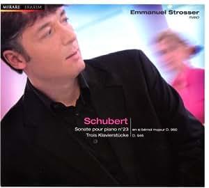 Schubert : Sonate Pour Piano N°23, Trois Klavierstücke