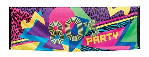 anner Jahre '80, Mehrfarbig (80er Jahre Party-thema)
