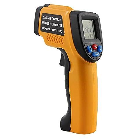 niceEshop(TM) Infrared Thermometer -58Fahrenheit-716Fahrenheit (-50 Celsius Degree-380 Celsius Degree) Non-Contact