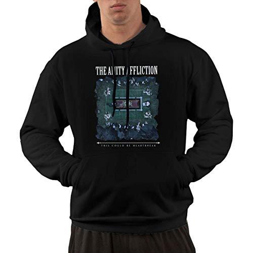 SKQIT Lustiges Sweatshirt Men\'s The-Amity-Affliction This Could Be Heartbreak Fashion Graphic Einbauküche Kapuzenshirt