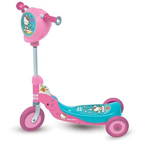 Mondo - 18012 - Vélo et Véhicule pour Enfant - Patinette 3 Roues Pliable - Hello Kitty - Coloris aléatoire