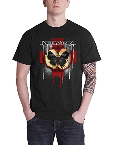 In this moment T Shirt Rotten Apple Band Logo Nue offiziell Herren