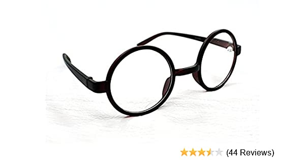 c5ef2861cf84 8360 Stylish Retro Round Frame Reading Glasses+1.0+1.5+2.0+2.5 In Black or  Brown (Black
