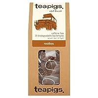 teapigs Rooibos Tea, 15 Count (Pack of 6)