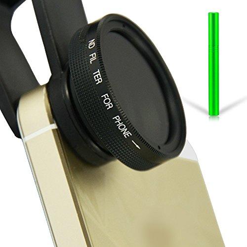 First2savvv JTSJ-PS-01F6 Telefon ND Neutral Graufilter filter Objektiv für Handys - LG D120 L50...