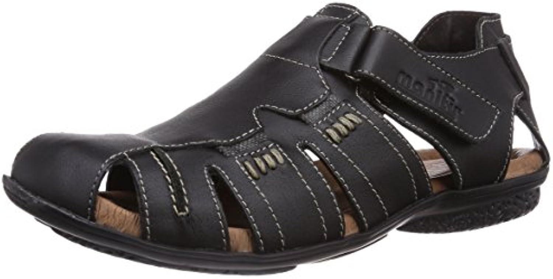 Manitu 620187 Herren Geschlossene SandalenManitu 620187 Geschlossene Sandalen Schwarz Billig und erschwinglich Im Verkauf