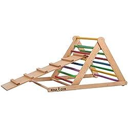 Triangle de marche 80*80*115, échelle d'escalade pour tout-petits, Triangle d'escalade pour tout-petits spross Triangle