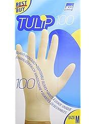 Tulip Guanti Taglia M, Confezione da 100