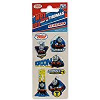 Toys & Gamers 5 x Quality Licensed Sticker Sheets Favourite Characters Perfect for Party Bag Fillers (Thomas The Tank Engine)
