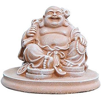 Amazon.de: Glücksbuddha Figur Terrakotta als Geschenk