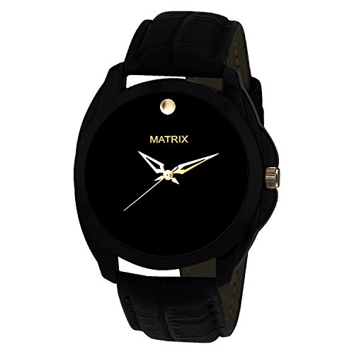 Matrix-Analogue-Black-Dial-Mens-Watch-WCH-188