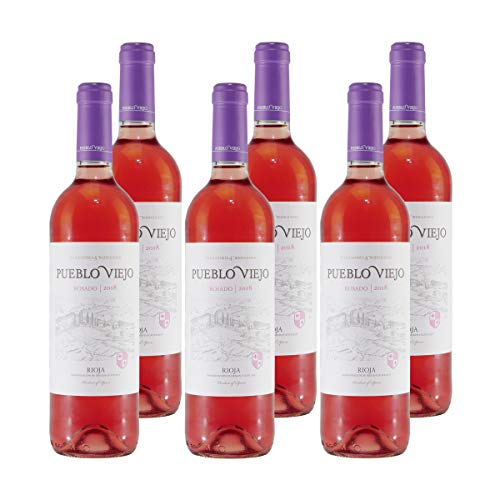 Pueblo Viejo Rioja Rosado Roséwein (6 x 0,75L)
