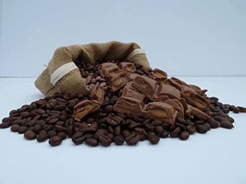 4 x 100g Coffee beans Flavoured, Normal Roast, Decafeinated coffee or ground (Ground Cafetiere)