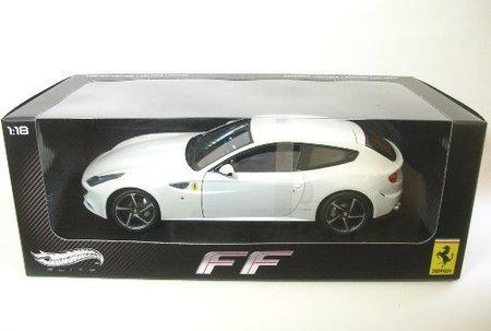 Hotwheels - Elite (Mattel))-w1119-Fahrzeug Miniatur-Ferrari FF Backofen-Echelle 1: 18 (Elite-backofen)