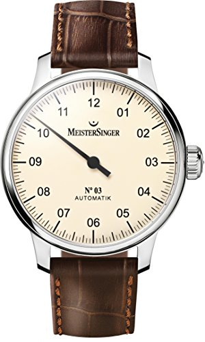 Meistersinger gentles watch N03 AM903