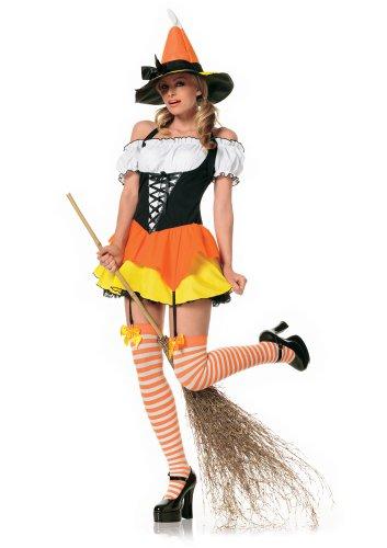 Leg Avenue Süsse Hexe Kostüm Mehrfarbig, 1 - Playboy Hexe Kostüm