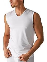 Mey 46037-101 Men's Dry Cotton White Solid Colour Tank Vest Top 6XLarge (Brand Size 14)