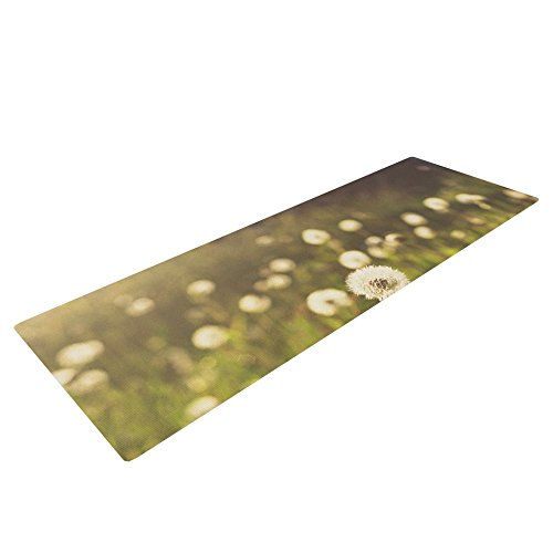 kess-inhouse-libertad-leal-as-you-wish-yoga-exercise-mat-dandelions-72-x-24-inch