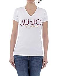 T-Shirt Moda M C Bianco W19436J5003 Liu Jo W19436 ffa763ed375