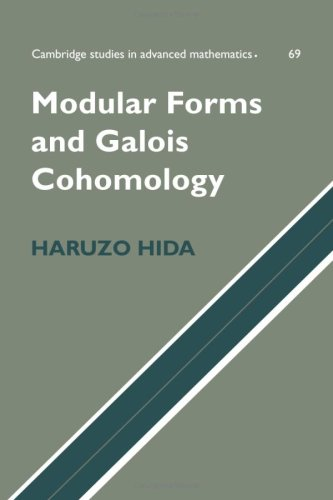 Modular Forms and Galois Cohomology (Cambridge Studies in Advanced Mathematics)