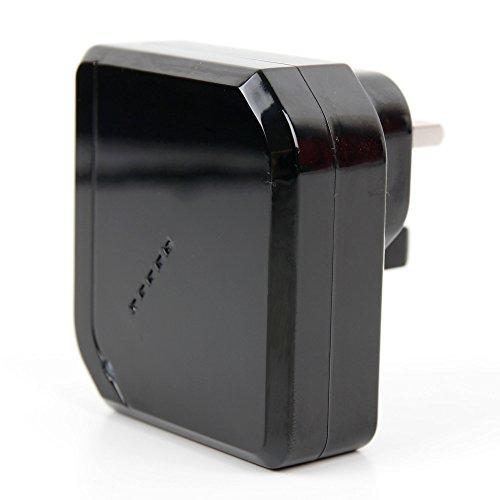 Preisvergleich Produktbild DuraGadget Zweifaches - USB Ladegerät | Reisestecker | Adapter für die UK (3 - Polig) kompatibel mit Ihrer Nintendo 2DS XL Spielkonsole