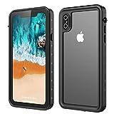 Happon Coque Etanche iPhone XS Max, Anti-Choc Anti-Poussière et Anti-Neige...