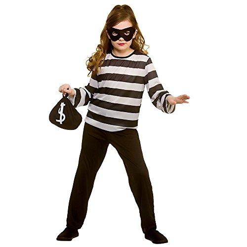 Kinder Größe Sneaky Räuber Kostüm Medium (5-7yrs) (Wicked Kostüm Kinder)