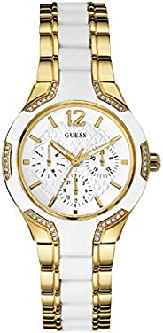Guess Sport Watch for Women, Stainless Steel, Analog - W0556L2