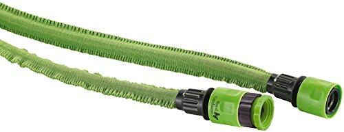 Royal Gardineer Flexibler Gartenschlauch: Dehnbarer Gartenschlauch PRO.V2, 17 bis 50 m (Elastischer Gartenschlauch)