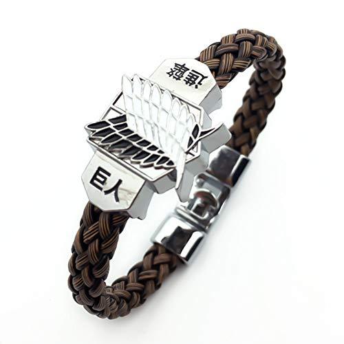 SLIJing Jewelry Bohemian Style Punk Armband Herren Strickarmband Werbung, Fair Tourismus Gedenkgeschenke