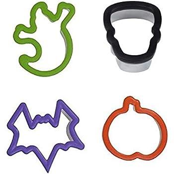 Multicolore Wilton Set di 4 Pezzi Forme Aderenti per Biscotti di Halloween