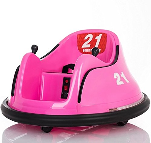 Rebo 123456/Pink Children�s Waltzer Car Battery Operated Electric Ride on Toy - Pink