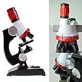Qwhome Microscopio Per Bambini Set 100X 400X 1200X Per Bambini Kit Educativo Per Microscopio Giocattoli Educativi Per Bambini O Studenti
