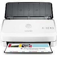 HP ScanJet Pro 2000 s1 - Escáner con alimentador de Hojas (hasta 24 ppm/48 ipm, 600 PPP, 48 bits, 397 x 248 x 242 mm) Color Negro y Blanco