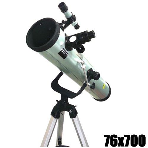 Spiegel Teleskop DynaSun 700 76 Spiegelteleskop Reflektor Fernrohr mit Zubehör