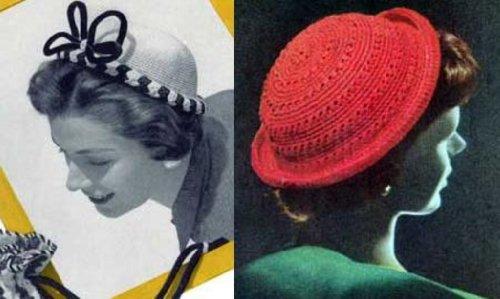 Patrones de ganchillo para sombreros
