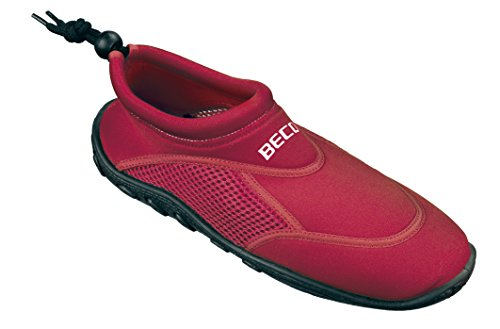 Beco - Badeschuh - Chaussons de surf - Mixte Adulte Rouge (rot)