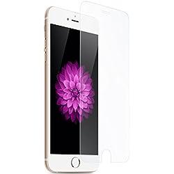 COPHONE Verre Trempé Film Protection d'écran Compatible avec iphone 6 / 6s 0,33mm INRAYABLE et Ultra RÉSISTANT Indice Dureté 9H Haute Transparence pour iPhone 6 / 6s 2,5d