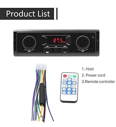 HKFV K501 Auto-MP3-Auto-USB-Laufwerk In-Dash FM Aux-Eingangsempfänger TF/USB / MP3