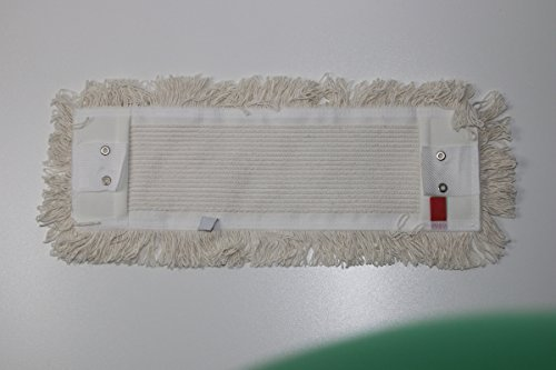 CleanSV® Laschenmop Baumwollmop 40 cm Wischmop mit Laschen (und Taschen)