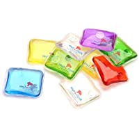 Instant, portable and reusable heating gel pads (pair) magical hand warmers (packaging & colours may vary) by Heat in a click