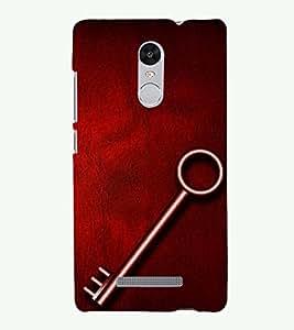 PRINTSOPPII KEY SUCCESS Back Case Cover for Xiaomi Redmi Note 3::Redmi Note 3