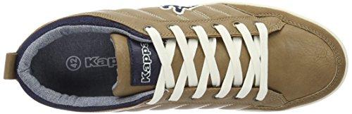 Kappa Rooster, Sneakers Basses Homme Beige (Camel/navy)