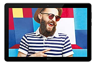 "Huawei Mediapad T5 Tablet, Display da 10.1"", 32 GB Espandibili, 3 GB RAM, Android 8.0 EMUI 8.0 OS, Wi-Fi, Nero (B07G46LGKN) 