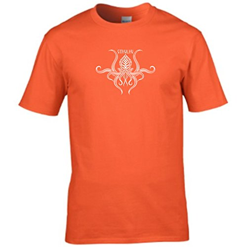 S Tees Herren T-Shirt Orange - Orange