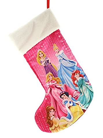 Disney Princesses Plush Stocking, Pink