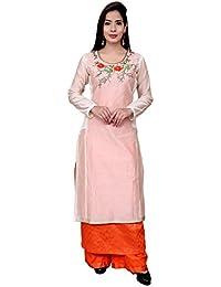 Dream fashion Women Unstitched Salwar Suit Dupatta material Free Size (Unstitched)